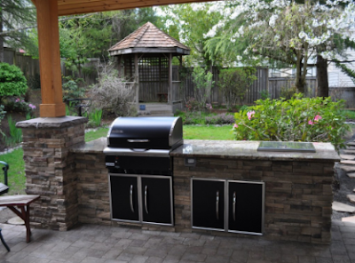 Backyard Grill Design Ideas (Places Ideas - www.places-ideas.com)