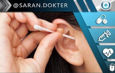Cotton bud bisa menyebabkan telinga budek