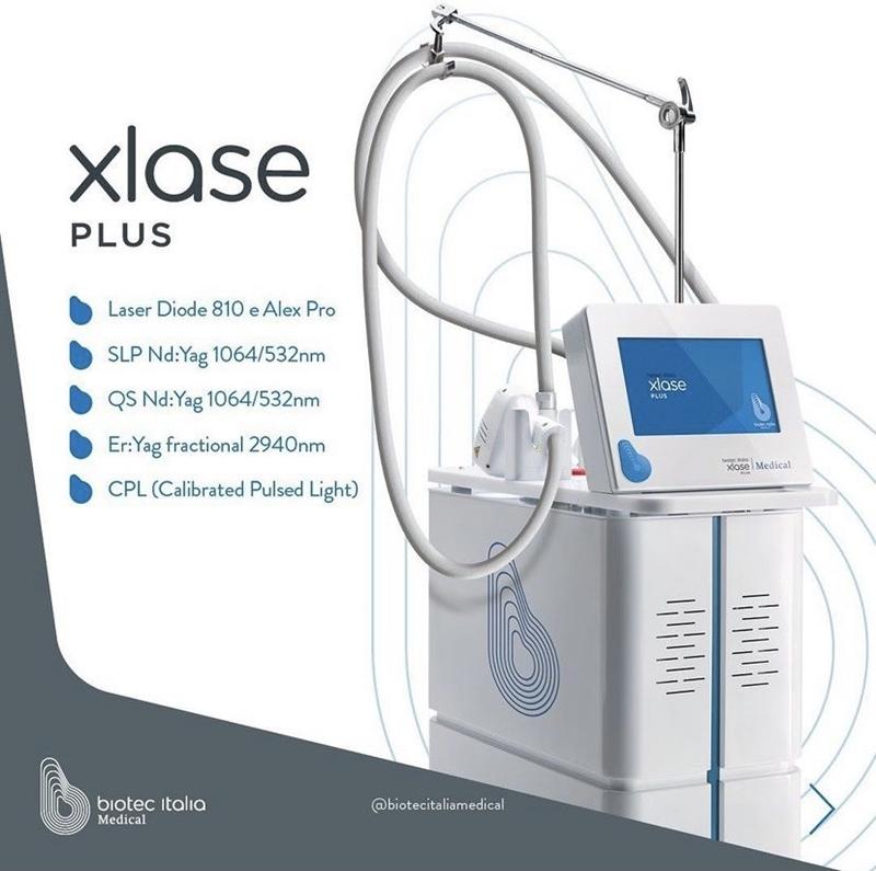 Avrupa'nın tercihi XLASE Plus lazer cihazı