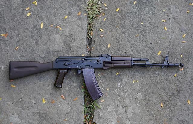 Ken-Kubin-1988-88-Izhmash-AK74-Plum