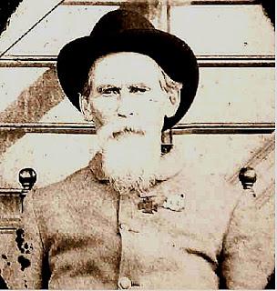 James Henry Dove in Civil War Uniform 1862