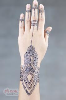 Bridal Modern Mehndi Designs 2019