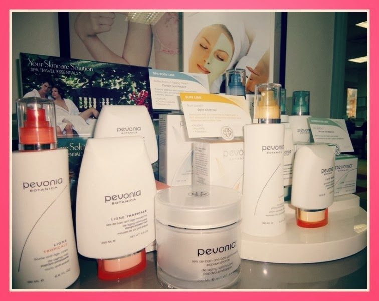 Pevonia Botanica skincare products