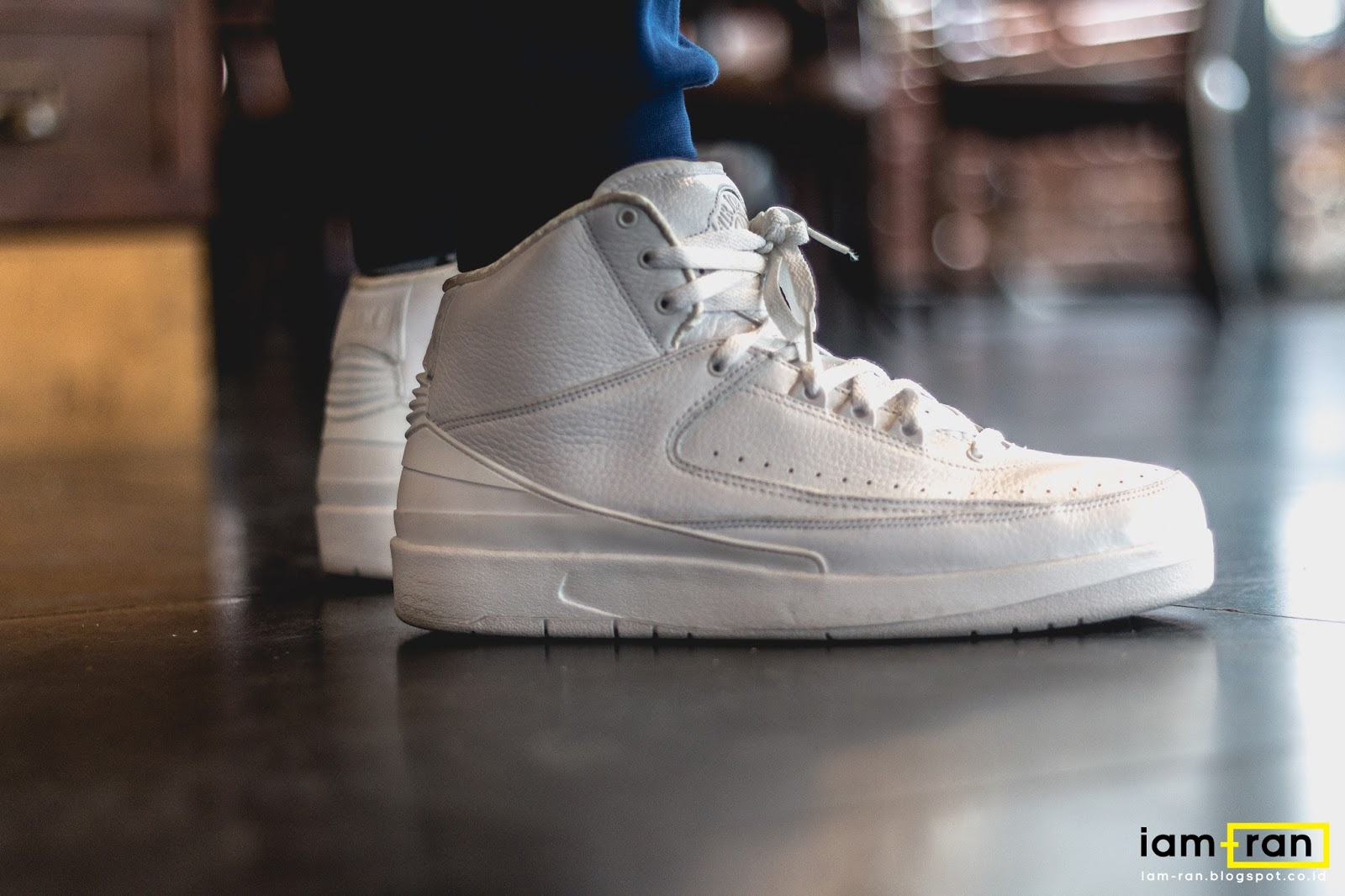Iam Ran On Feet Winston Nike Air Jordan 2 25th Anniversary