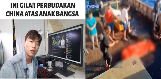 Biadab! YouTuber Korea Ceritakan Pekerja Indonesia Jadi Budak Kapal China