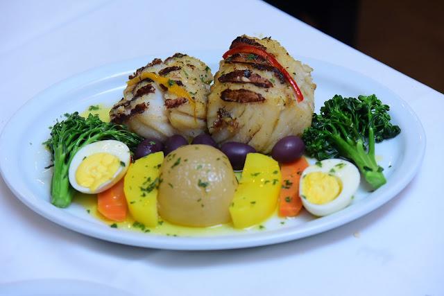 Postas de Bacalhau Barbacoa Restaurante