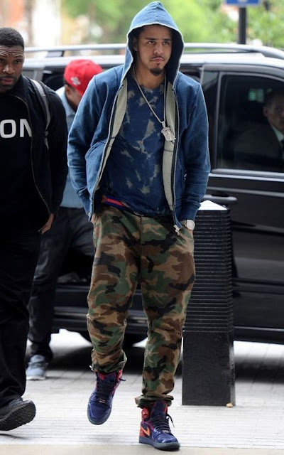 J Cole Jordans Celeb Sneaker G...