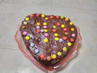 Tarta de galletas,flan y chocolate