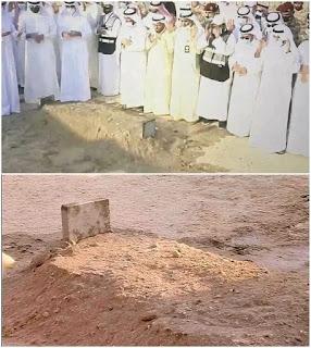 Inilah kubur Raja Kuwait yang meniggl kemarin