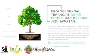 Oi Malang Reresik dan Tanam Pohon di Kampung Adat