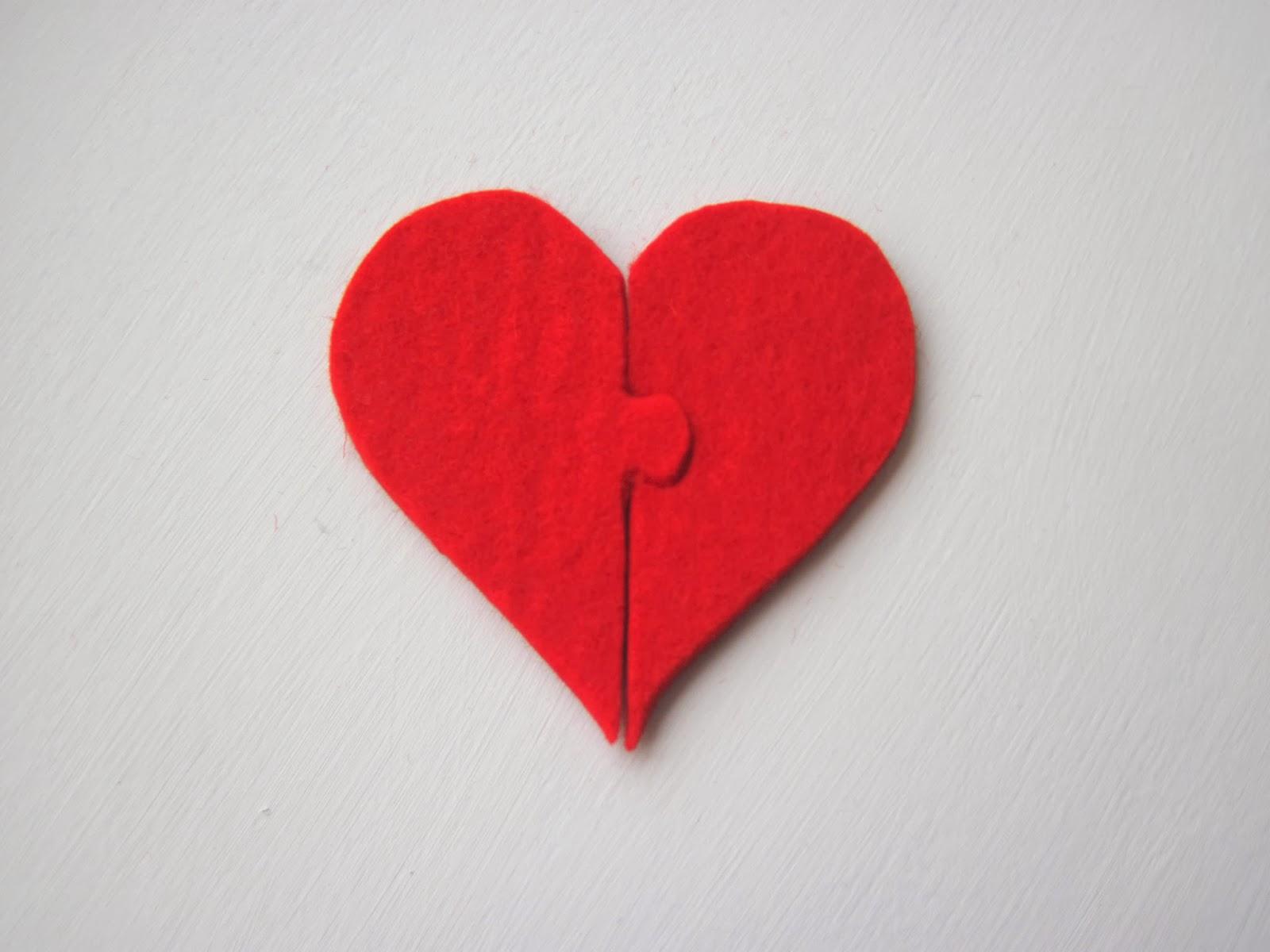 No Sew Felt Valentine S Day Card
