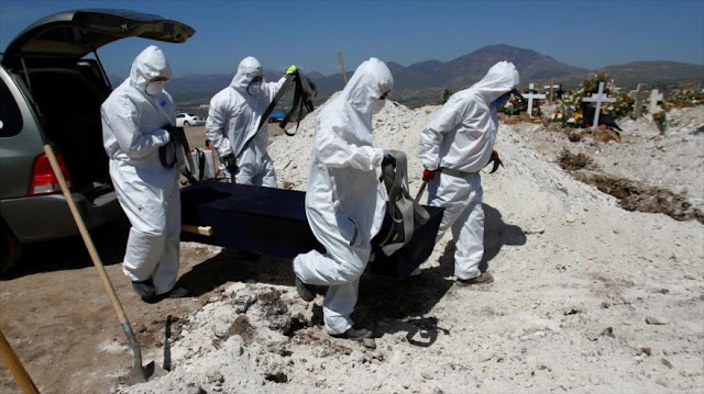 México supera a Italia como 4.º país con más muertes por COVID-19