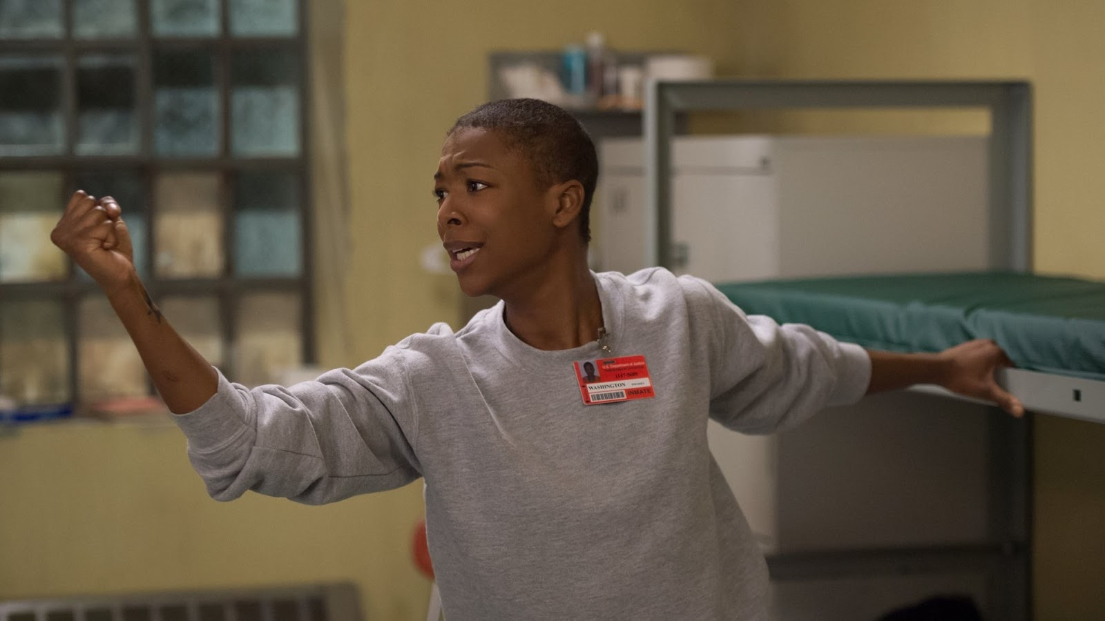 Poussey Washington, interpretada por Samira Wiley en 'Orange is the New Black'