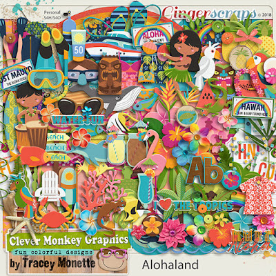 Aloha Land and Cluster Frames No15