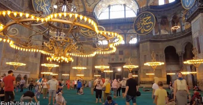 Istanbul Hagia Sophia-Sultan Ahmed Mosque   Short History Of Hagia Sophia