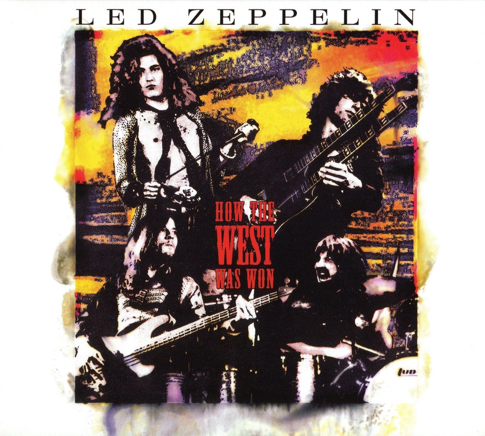 boyz make noize led zeppelin how the west was won 3 cd box set 2003. Black Bedroom Furniture Sets. Home Design Ideas