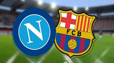 شاهد مباراة برشلونة نابولي  بت مباشر