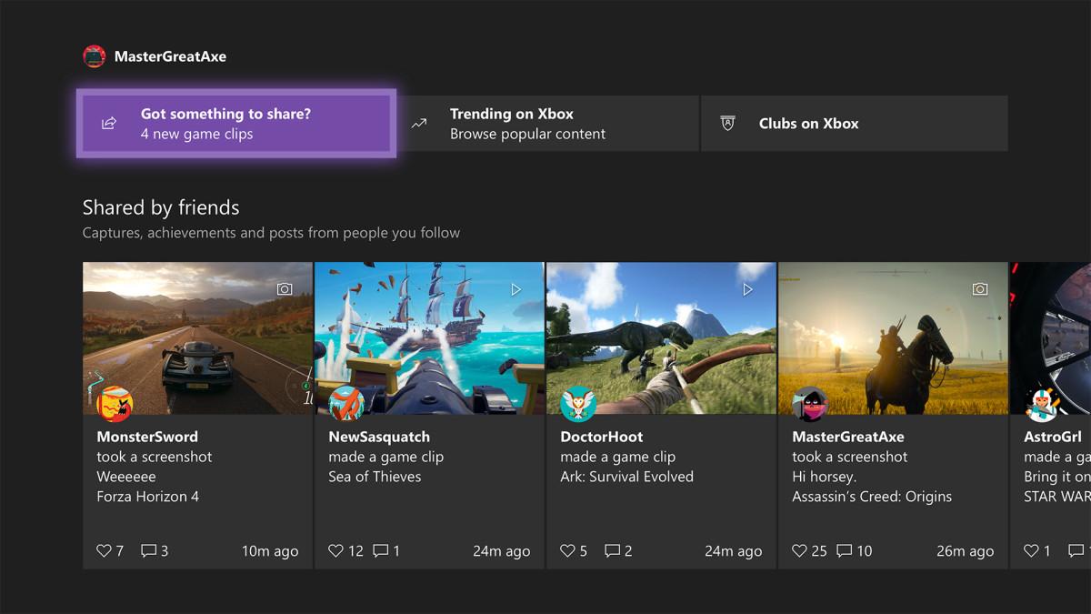 Le novità in arrivo su Xbox con l'aggiornamento di maggio 2020