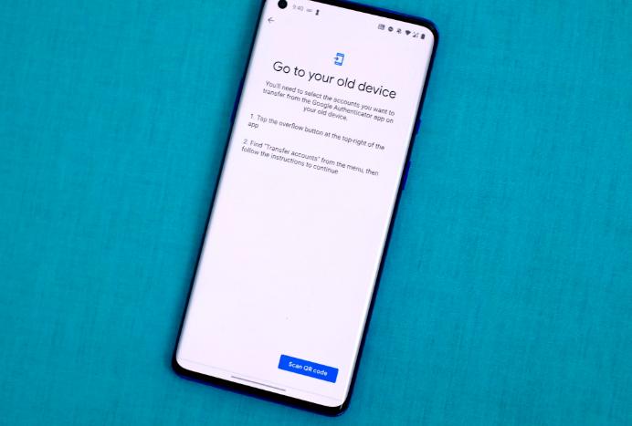 كيفية نقل حسابك Google Authenticator