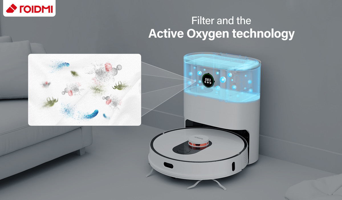 Xiaomi ROIDMI Eve Plus Launch: A dust collecting sweeping robot with sterilization function