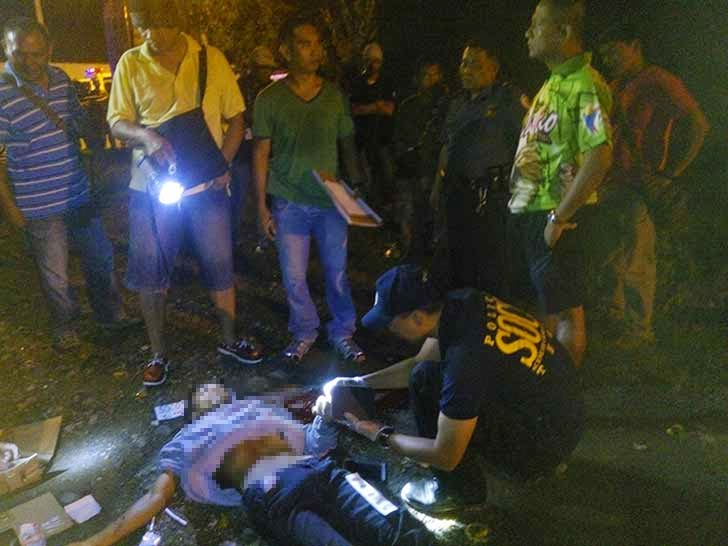 Caught In The Act, Robber Shot By Police in Davao