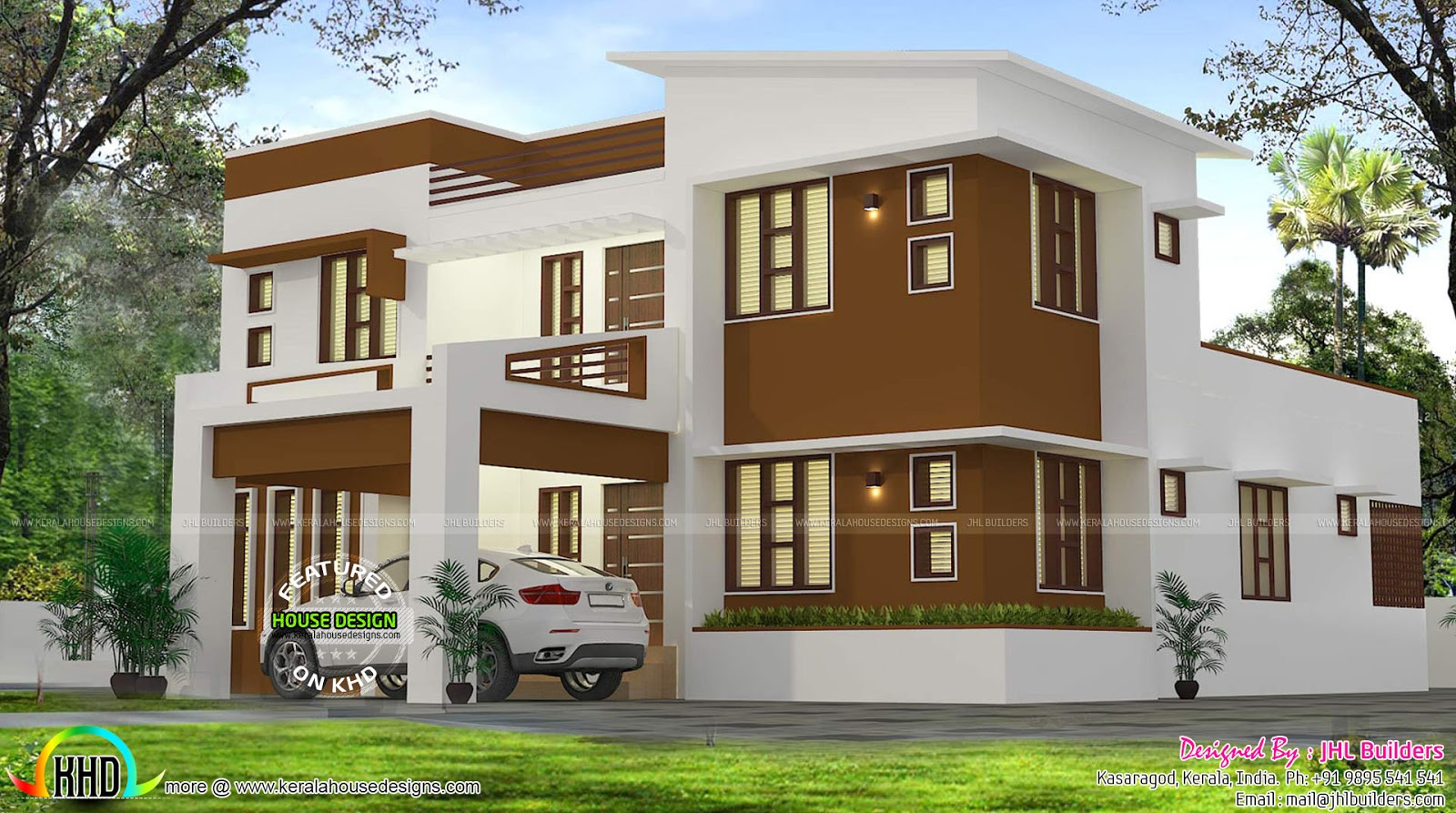 Interior designs and elevation of modern home kerala for Interior design house elevation
