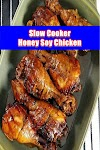 #Slow #Cooker #Honey #Soy #Chicken