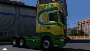 Scania RJL Whyte Crane Hire Skin