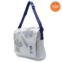 Alfacart Asian Games 2018 Messenger Bag Logo Grey ANDHIMIND