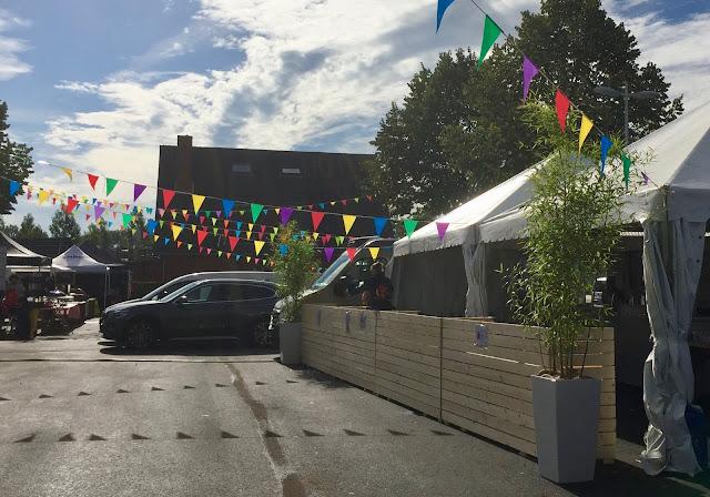 inkleding met planten voor evenementen feestzalen bedrijven beurzen
