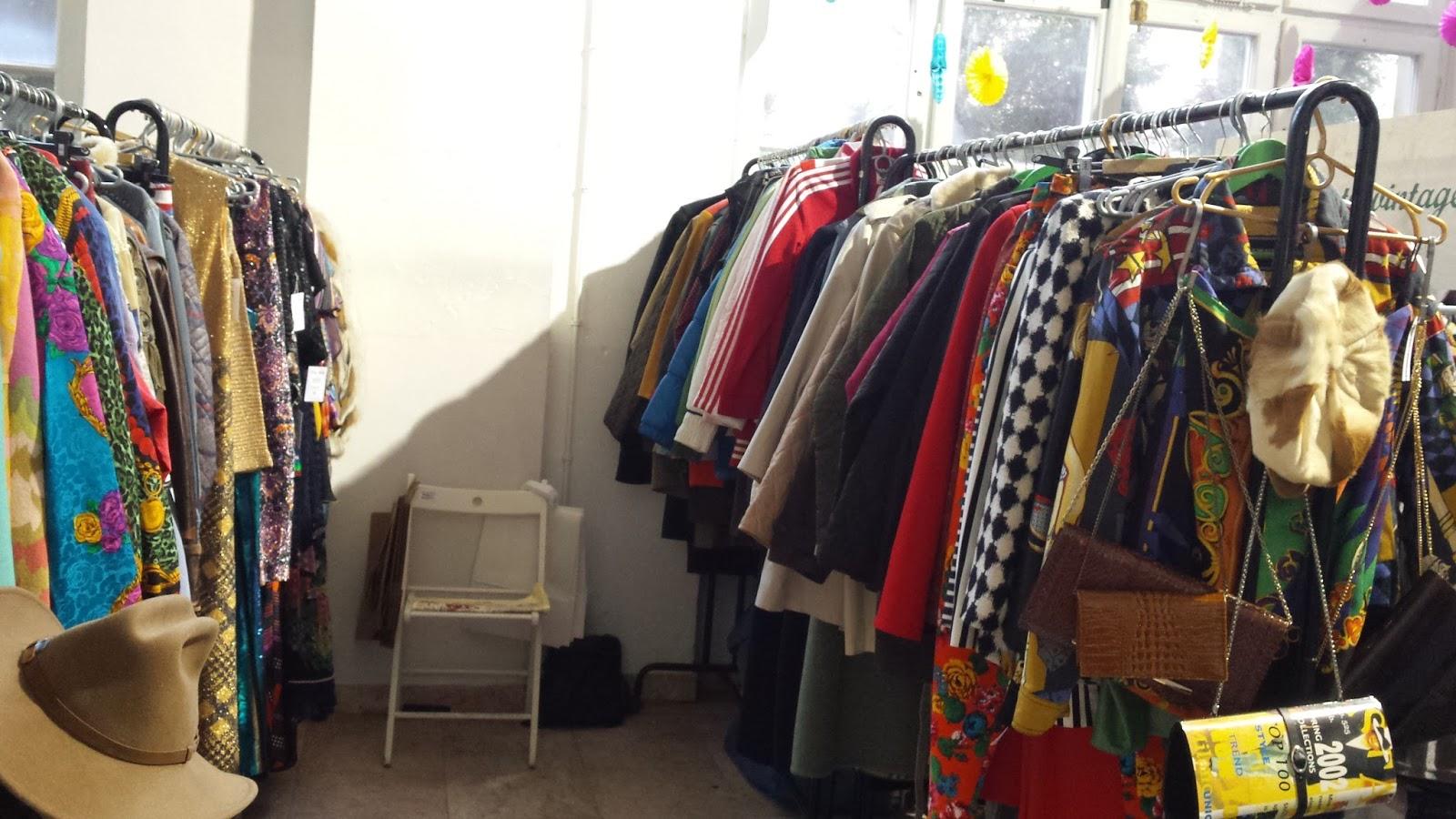 Vintage Store, Warsaw Vintage Market, Niebo, targi mody vintage, blog modowy, zrównoważona moda