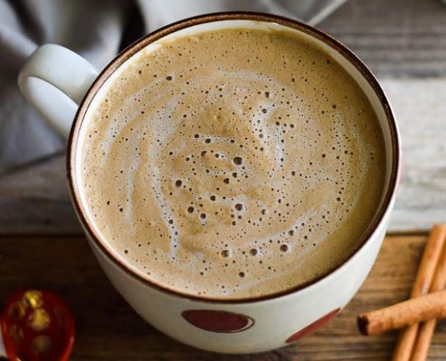 Cinnamon Coconut Latte #drinks #latte