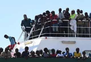 Italy calls on European countries to take migrant ships as country struggles with record numbers