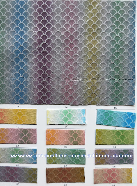 cyprinoid scales fabric