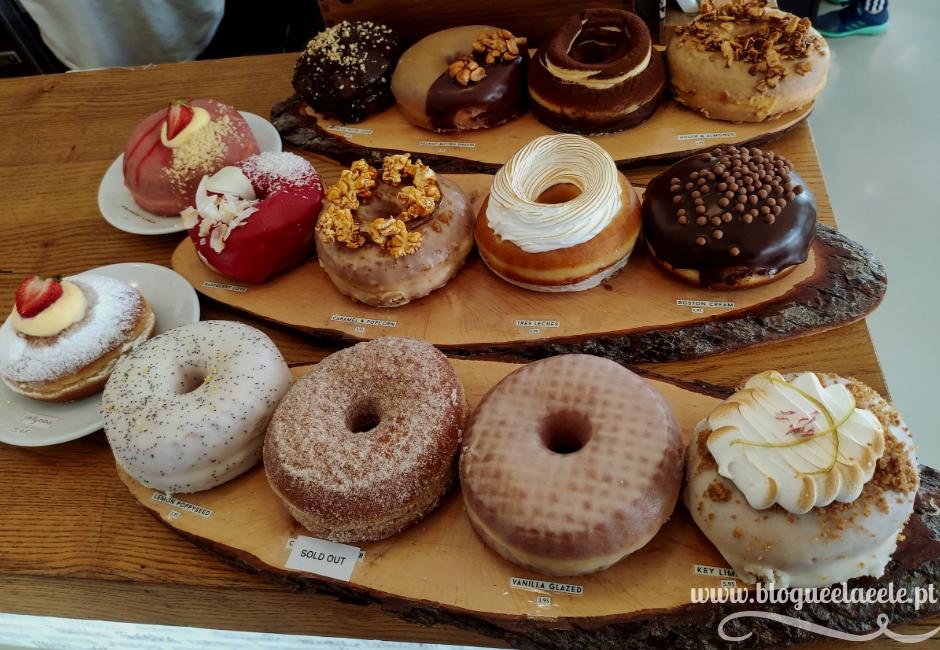 Os melhores doughnuts do país numa hamburgueria