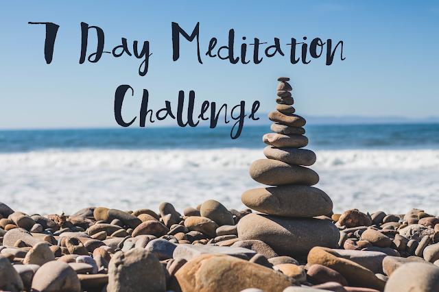7 Day Meditation Challenge - www.greysuede.com