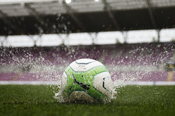 Balón Fútbol Lluvia