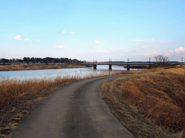 恋瀬川サイクリングコース 常磐線