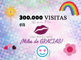 300.000 visitas midolcebelleza