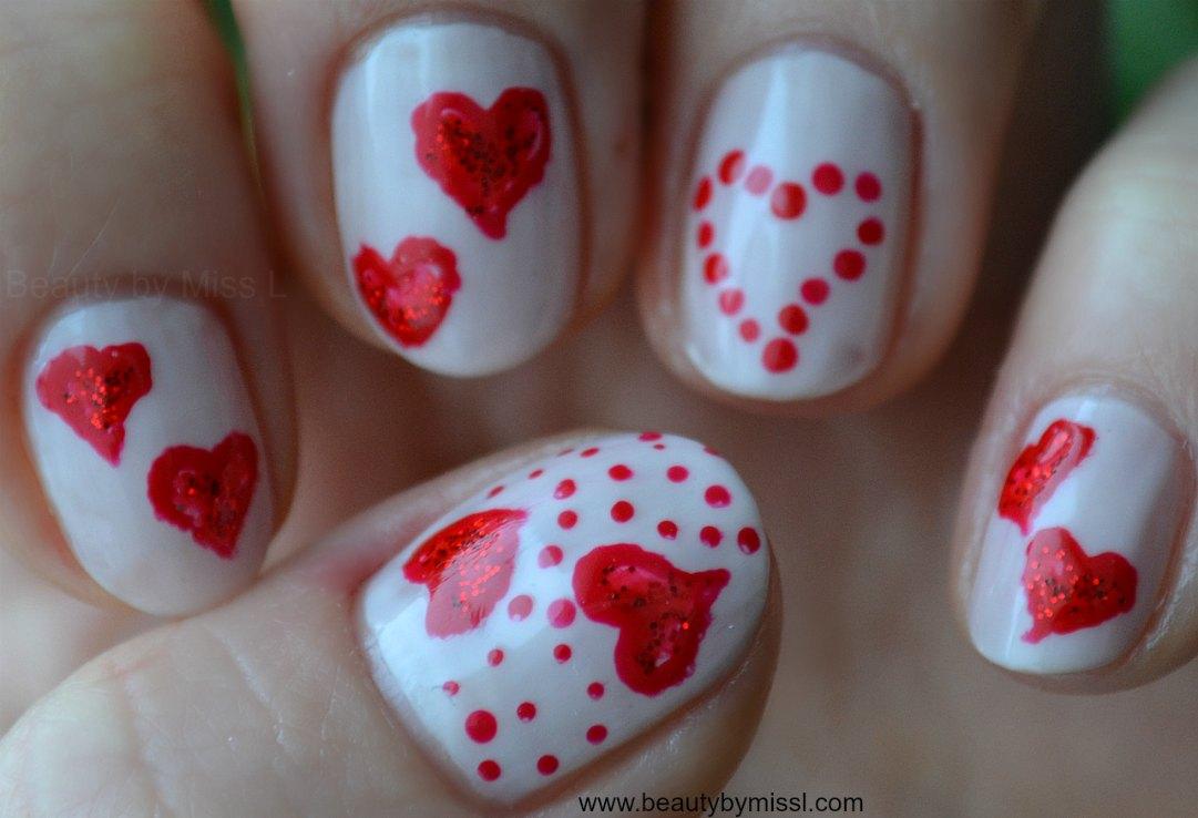 Valentine´s Day manicure