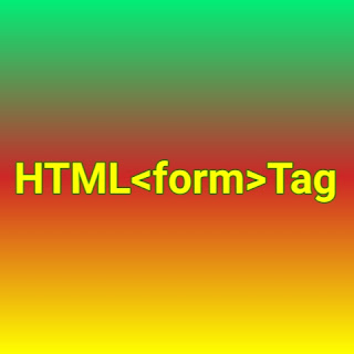 HTML <form> tag