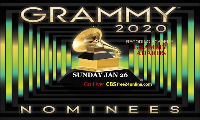 grammy 2020 live stream free online