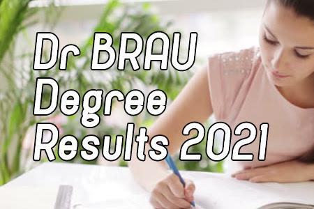BRAU 1st to 6th Sem Results 2021