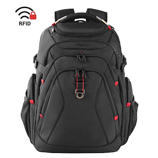 KROSER Travel Laptop Backpack 17.3 Inch XL Heavy Duty Computer
