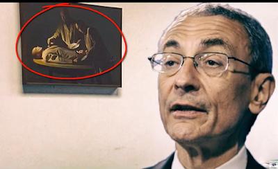 John Podesta-arte bizarro-canibalismo