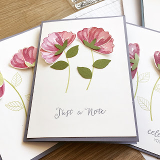 Bunch Of Blossoms and Blossom Builder Punch cards