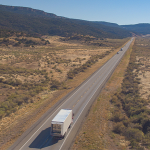 Artificial intelligence is projected to play a big role in trucking in the future.