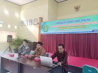 Kasi Pakis Kemenag Lombok Barat Bintek Operator TPQ