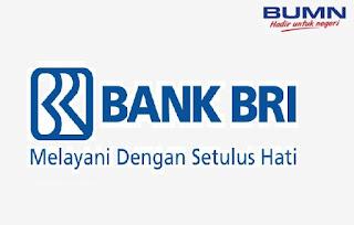 Penerimaan Tenaga Pegawai PT Bank Rakyat Indonesia Pendidikan minimal D3 dan S1 Tahun 2020