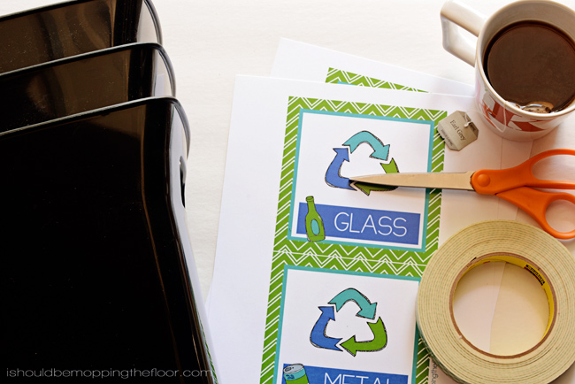 Recycling Printables